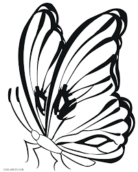 Free Printable Butterfly Colouring Pictures Butterfly Coloring