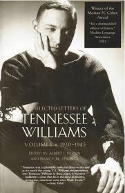 new directions publishing company tennessee williams cover image for the selected letters of tennessee williams vol i 1920 1945