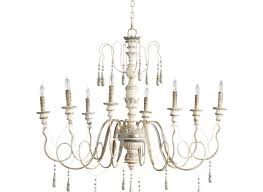 something old and rustic in contrast with a modern space chantilly french country parisian blue white 8 light chandelier chandeliers kathy kuo home
