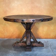 rustic round table. Rustic Round Table, Spanish Table T