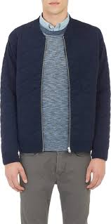 Paul Smith Jeans Diamond Quilted Bomber Jacket | Where to buy ... & ... Navy Quilted Bomber Jackets Paul Smith Jeans Diamond Quilted Bomber  Jacket Adamdwight.com