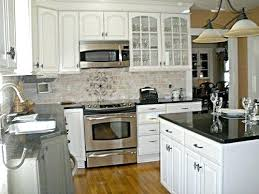 Backsplash Ideas For White Cabinets Kitchen Tile Ideas With White