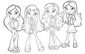 Coloring Pages American Girl Girl Doll Coloring Pages To Print Free