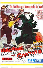 Jason Meisenheimer King Kong vs Godzilla Movie Poster (1962): Amazon.de:  Küche & Haushalt