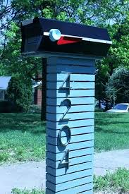 Mid Century Mailbox Extraordinary Modern Mailboxes Decorating Ideas