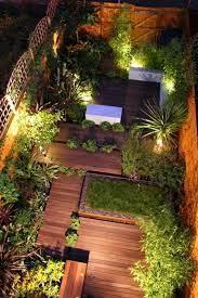 no grass back yard sloped level
