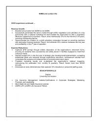 Consulting Resume Management Examples Execut Sevte