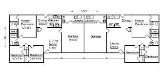 J1031dG Duplex Plan With GarageFloor Plans With Garage