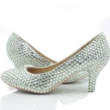 middle heel silver color wedding shoes glitter women comfortable Wedding Shoes Glitter Heel Wedding Shoes Glitter Heel #43 wedding shoes sparkly heel