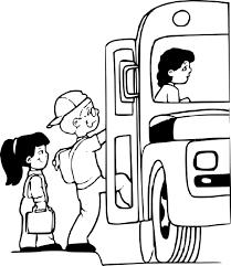 Coloriage Bus Et Enfant Imprimer Sur Coloriages Info