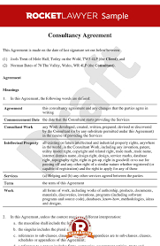 Consulting Agreement Sample In Word Extraordinary Consultancy Agreement Template Contractor Agreement