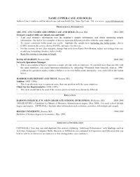 Resume Example For Management Position Ataumberglauf Verbandcom