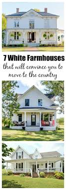 7 White Farmhouses That Will Convince You to Pack Up And Move to the  Countryside. Farmhouse IdeasModern ...