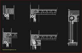 free cad details roller shutters cad design