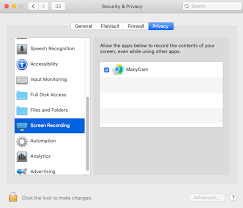 Screen Capture Mac Macos Catalina Screen Capture Permissions Manycam Help And