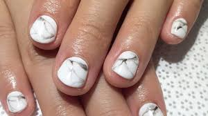 Gel Nail Marble Design Marble Nails How To Get The Manicure Trend In 5 Steps