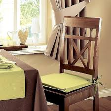 astonishing dining room chair pads with ties 29 on intended for plan 19
