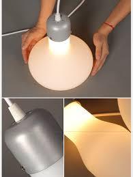 Experimental Bottle Glass Pendant Lamp Shade Retro Ceiling Lamp