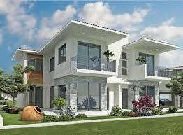 exterior white paintModern exterior home designs with white paint color  Home