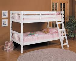 HOMESTEAD WHITE CONVERTIBLE TWIN/TWIN BUNK BED