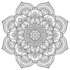 Small Picture Mandala Vintage coloring page Nice printable adult coloring