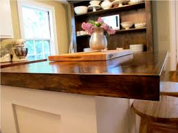 Wooden Kitchen Countertops Diy Wood Countertops For Kitchens Ideas Home Inspirations Design