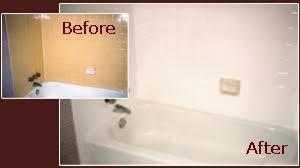 bathroom tile refinishing. Bathroom Tile Before And After AFFORDABLE BATHTUB REFINISHING Refinishing K