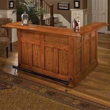 Living room bars furniture Tasasylum Hillsdale Classic Large Oak Wrap Around Home Bar Moojiinfo Bar Furniture For Every Room Of Your Home