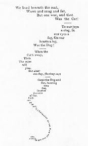 poems form 30 best concrete poems images on pinterest typography dibujo and