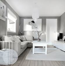 Light Grey Living Room White And Light Grey Natural Charme Blank Canvas Living