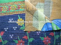 Indian Kantha Quilts Uk Indian Sari Throws Buy Kantha In ... & Indian Kantha Quilts Uk Indian Sari Throws Buy Kantha In Reversible Pattern  Indian Vintage Kantha Quilts Adamdwight.com