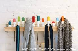 Homemade Coat Rack Awesome HomeMade Modern EP32 Screwdriver Coat Rack
