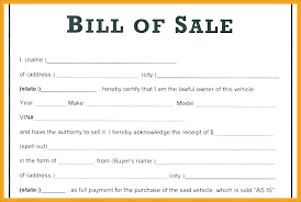 Vehicle Sale Receipt Template Car Sale Receipt Template Vehicle Used Australia Bill Of