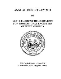 15025 innovation drive san diego ca 92128 contact notes: Annual Report A Fy 2011 West Virginia Legislature