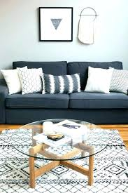what color rug with grey couch dark grey couch outstanding gray pillows coffee tables living room