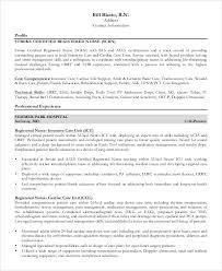 Director Of Nursing Resume Amazing Stroke Nurse Resume