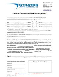 child travel with one parent consent form when kids travel on private planes with only one parent