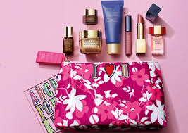 this estee lauder gift with purchase will be gone before you know it get it with two or more estée lauder purchases one to be skincare or foundation