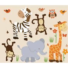 safari wall decor with zebra wall art for boys bedrooms
