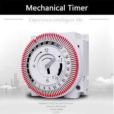 15 Min Timer Mechanical Timer 250v Time Counter Reminder 15min 24h Kitchen Countdown Energy Saving Controller Industrial Timing Switch 15 Minute Timer Interval