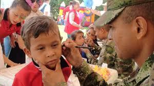 Resultado de imagen para Los Niños Protagonistas del Ejercito Nacional Imagenes