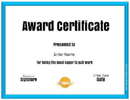 Certificates Funny Free Customizable Printable Funny Awards
