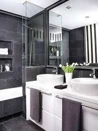 Black And White Bathroom Designs Cool Inspiration Design