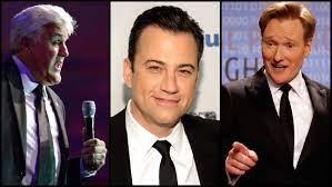 Late-Night Showdown: Conan, Kimmel Target Jay Leno's Final 'Tonight Show' –  The Hollywood Reporter