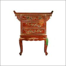 red lacquered furniture. Oriental Lacquer Furniture Altar Cabinet Gloss Red With 3 Drawers And The Bird Flower Design Lacquered