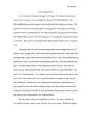 essay rhetorical analysis loreal advertisement kerchenski  3 pages essay critique food stamps