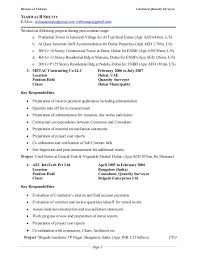 Resume of Vishwas Chartered Quantity Surveyor ...