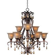 maxim lighting dresden 9 light chandelier reviews wayfair