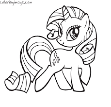 Small Picture Printable 24 My Little Pony Coloring Pages Rarity 3220 My Little