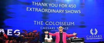 Elton John Million Dollar Piano Seating Chart Elton John Takes Final Bow At Caesars Palace As The